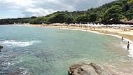 Lindo dia de sol na praia do Curral - Ilhabela