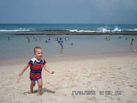 Praia da Caponga - Ideal para crianças