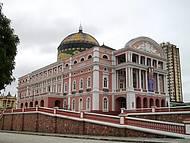 Apreciar o Teatro Amazonas