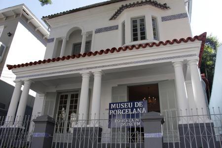 Museu de Porcelana - Espaço funciona na antiga residência de Marechal Rondon