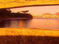 Visto da ponte de acesso à Ilha da Boa Viagem.