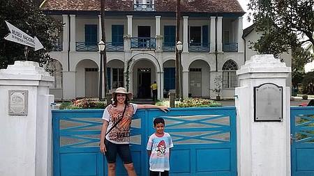 Museu do Imigrante (Casa do Príncipe) - Do portão - Fechado nas segundas!