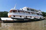 Barco Hotel Lenda do Pantanal