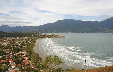 Praias - Vista do Alto de Sao Sebastiao