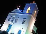 Igreja Nossa Senhora de Nazaré. Iluminação maravilhosa!