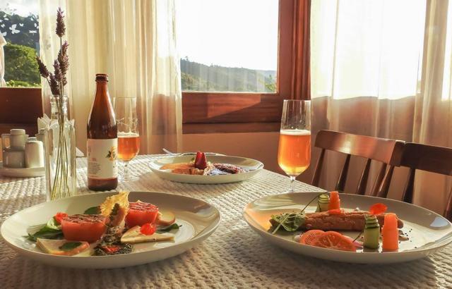 Boa mesa: no restaurante Sauá, delícias contemporâneas com vista!