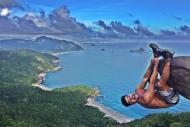 Pedra do Telégrafo, no Rio de Janeiro: Cenário é perfeito para fotos de aventura