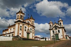 Mariana: Na Praça Minas Gerais, as principais igrejas<br>