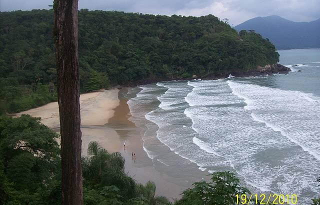 Linda tarde em Ubatuba / Praia Fortaleza