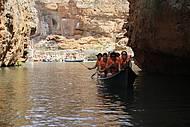 Passeio de barco ao cânion do Xingó (Rio São Francisco)