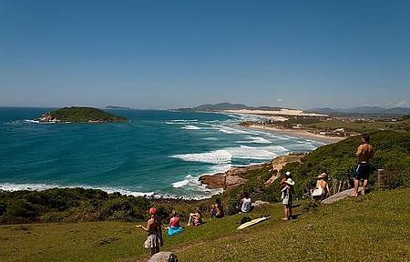 Praia de Ibiraquera - Passeio pela trilha Ibiraquera/Rosa