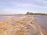 Mar Invadindo a Lagoa