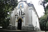 Capela de 1892 onde foi realizada a 1ª missa da cidade