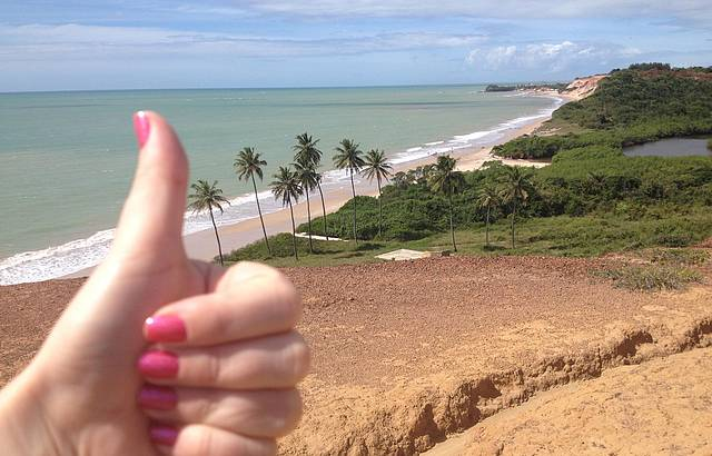 Vista da Barra do Gramame