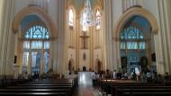 Interior Catedral de Santos