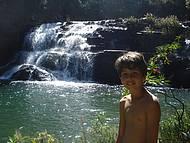Cachoeira do Parque Estadual da Serra da Boa Esperança