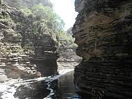 Cânion antes da Cachoeira do Buracão