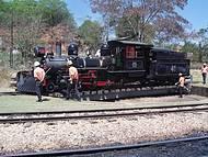 Belíssimo Trem Que Transporta Passageiros de São João Del Rei para Tiradentes