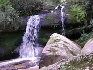 Cachoeira do Arco-íris - Agrande atração da Colônia