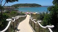Acesso a praia da bacutia