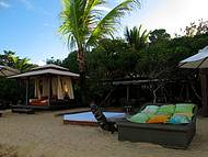 Clubs de praia, como o Bahia Bonita, capricham no estilo