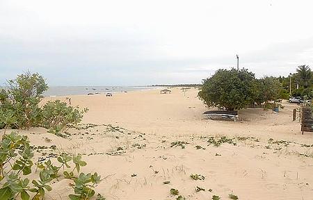 Maceió - Vista da praia a partir da Pousada Arte do Velejo.