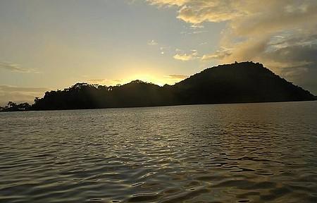 Baía de Paranaguá - Amanhecendo