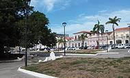 Cidade antiga praça linda