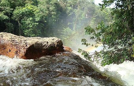 Cachoeira do Acaba Vida - Fim de tarde perfeito.
