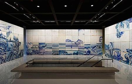 Instituto Inhotim - Arte contemporânea nos azulejos de Adriana Varejão