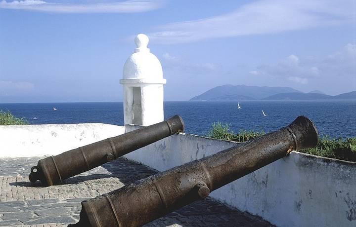 Visitar o Forte São Mateus é programa obrigatório!