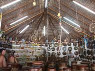 Artesanato Pataxó no Shopping dos Pataxós em Santa Cruz Cabrália