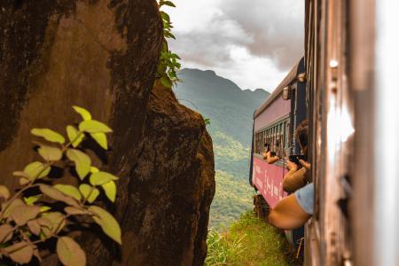 Passear de trem - Voando nos trilhos