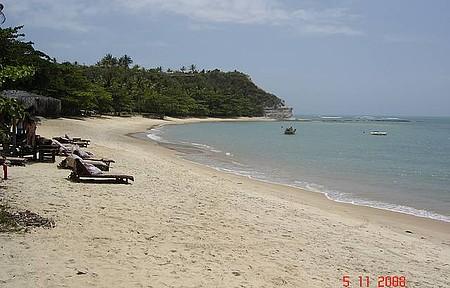 Praia do Espelho - Linda praia. Um dia maravilhoso!