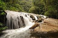 Circuito apresenta três cachoeiras