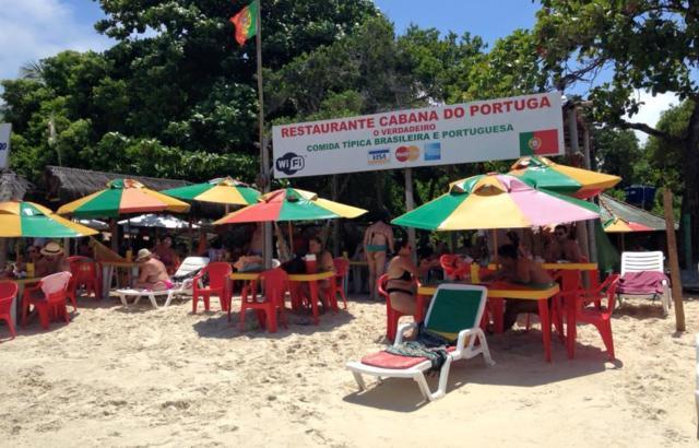 Passando o dia na Cabana do Portuga