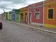Casa verde com porta branca- Casa de Pedro Américo.