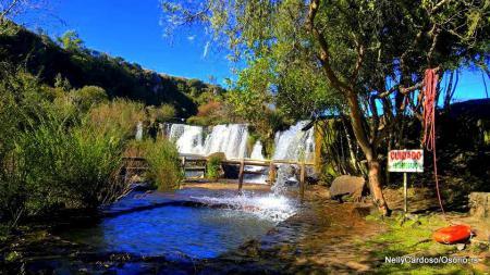 Parque das Cascatas - Um dia agradável em Lajeado Grande