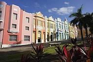 Muitas cores no Centro Histórico
