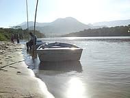 Rio Puruba ao entartecer