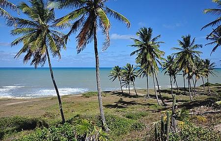 Praia semi-deserta (próximo à Lagoa da Coca Cola)