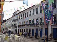 Fim de tarde na rua Portugal centro historico dia de S�o Jo�o