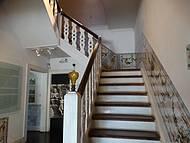 Escada de acesso ao 2º andar da residência