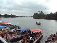 Ponto de partida p/ passeio de barco rio Preguiças imperdivel