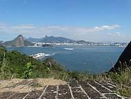 Vista deslumbrante da Baia de Guanabara