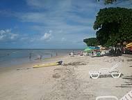 Praia tranquila / Passeios de caiaque