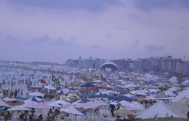 Praia do Forte (jan/13). Dia nublado