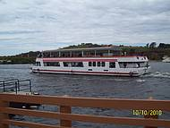 Passeio de barco para eclusa