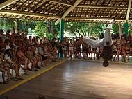 Imperdível o show de capoeira na Bahia, em Porto Seguro !
