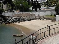 Praia do Parque das Esculturas